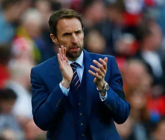 File Image Of England Manager Gareth Southgate Reuters