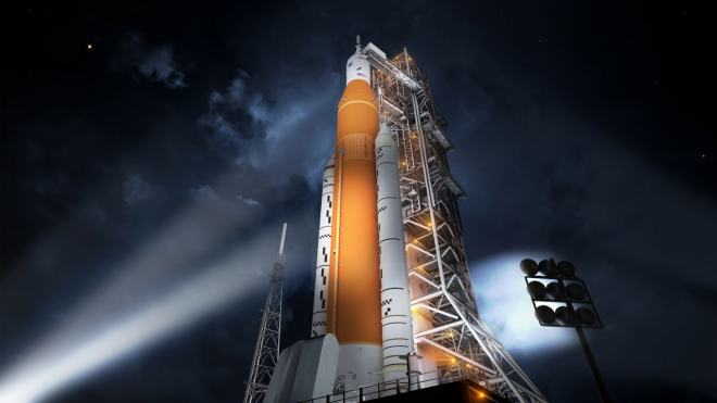 NASA gears up for final 'green test' of its SLS megarocket the Artemis moon missions- Technology News, Gadgetclock
