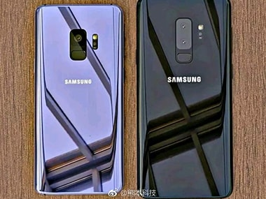 An anonymous Weibo user released an image of what is claimed to be the Galaxy S9 and S9 Plus