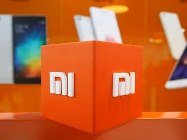 The logo of Xiaomi is seen inside the company's office in Bengaluru, India. Image: Reuters