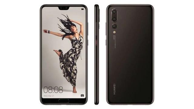 Huawei P20 Pro. @evleaks