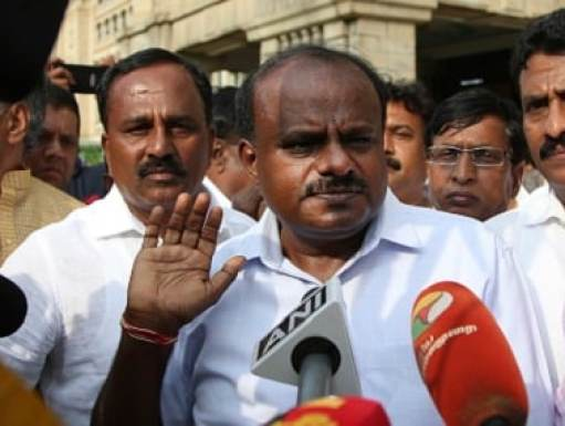 Image result for Kumarswamy Warns Congress Against Treating JD(S) as 'Third Grade Citizens'