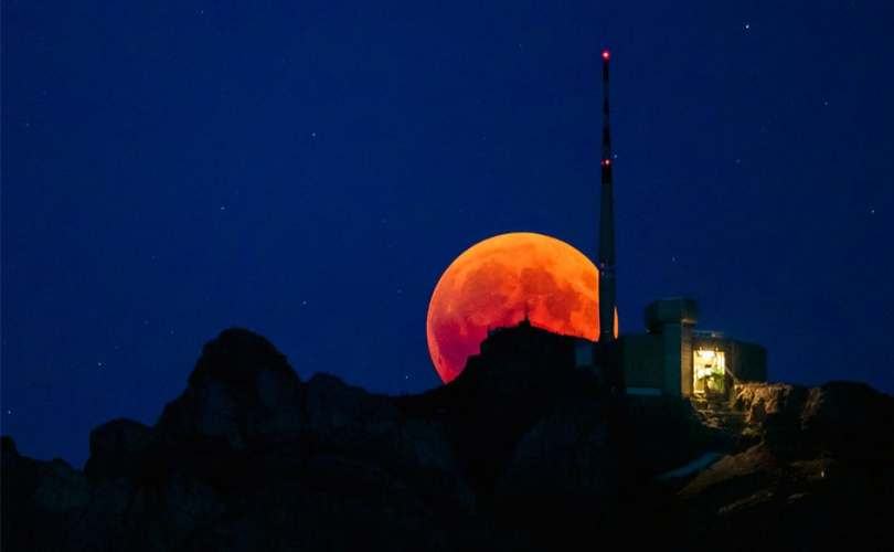 A total lunar eclipse is also called the Blood moon because of the reddish tinge that appears on the moon during a eclipse.