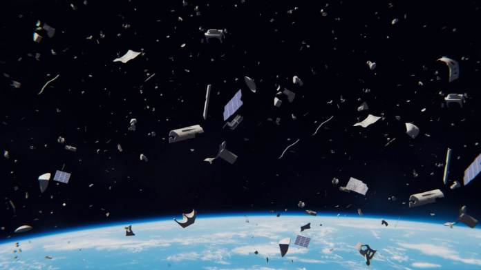 Space debris can be dangerous for other objects in space.