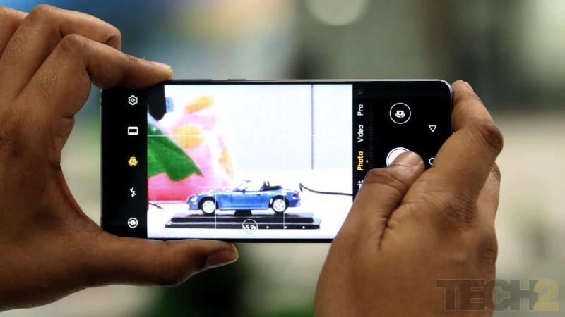 The Huawei P30 Pro. Image: Omkar Godambe