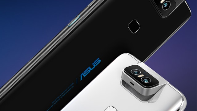 It's the rotating flip camera that sets the Zenfone 6 apart from the competition.