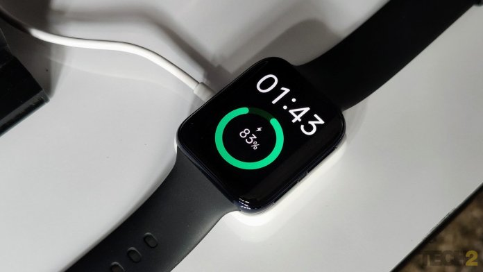 oppo latest mobile exciting offers Oppo Watch fuels up pretty quickly. Image: tech2/Sheldon Pinto