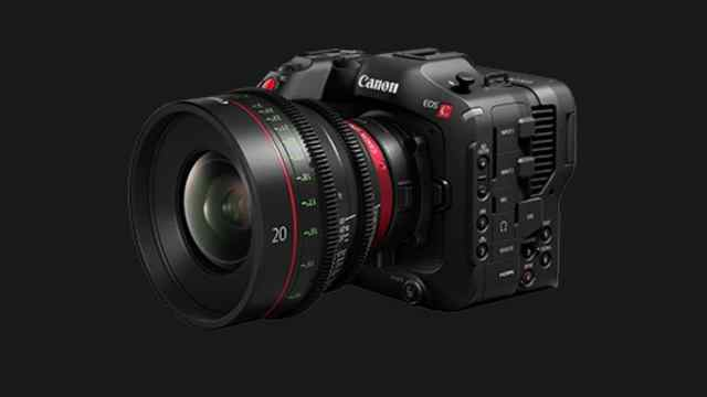 Canon EOS C70 camera announced, supports 4K/120P high frame rate recording