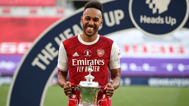 Premier League: Arsenal announce skipper Pierre-Emerick Aubameyang has signed new three-year contract