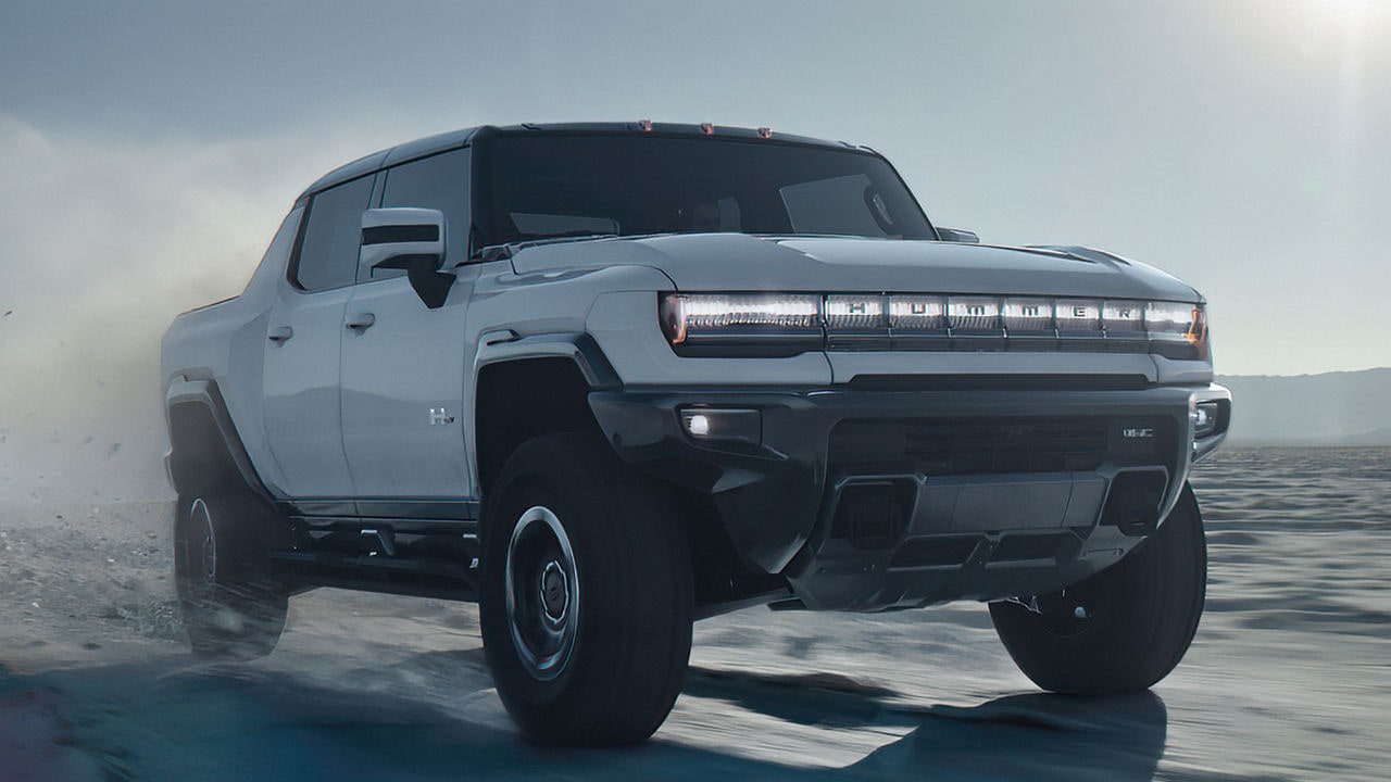 New Hummer EV, claimed to be world's first electric super-truck, unveiled- Technology News, Gadgetclock