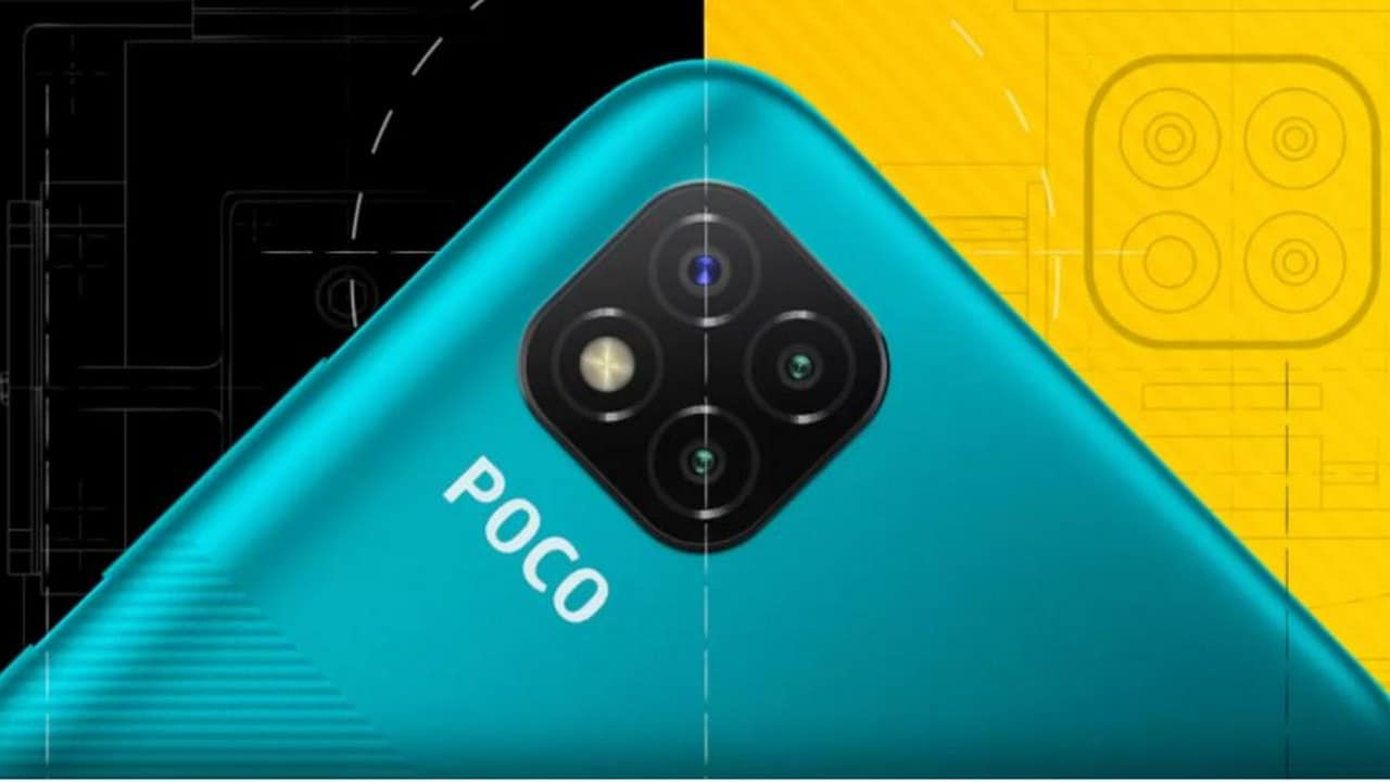 Poco C3 with 4 GB RAM, a 13 MP triple rear camera setup to launch in India tomorrow
