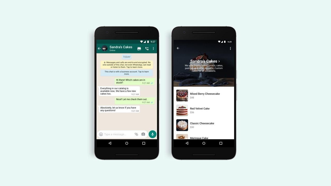 WhatsApp will now let both iOS and Android users to browse business catalogues via its new shopping feature- Technology News, Gadgetclock