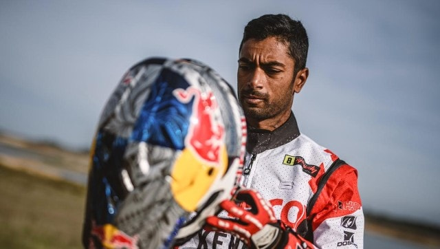 Hero MotoSports rider CS Santosh cleared to return to India following crash but remains under observation
