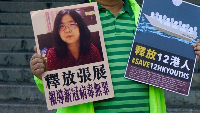 China sentences citizen journalist for 4 years in prison for her reports on COVID-19 outbreak in Wuhan