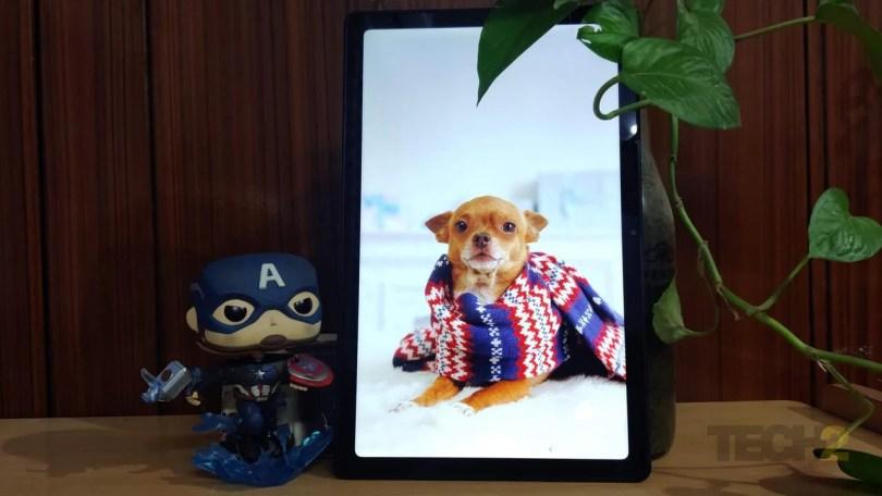 Samsung Galaxy Tab A7. Image: Tech2/Priya Singh
