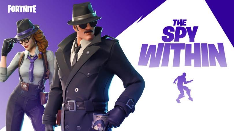 Epic Games adds a new The Spy Within game mode to Fortnite: How it works