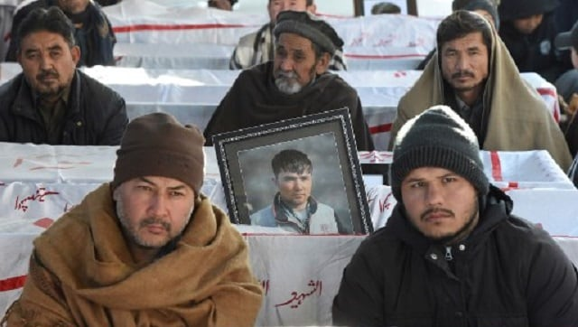Pakistani Hazara Shiites refuse to bury dead from Balochistan mine attack; protest 'ethnic cleansing'