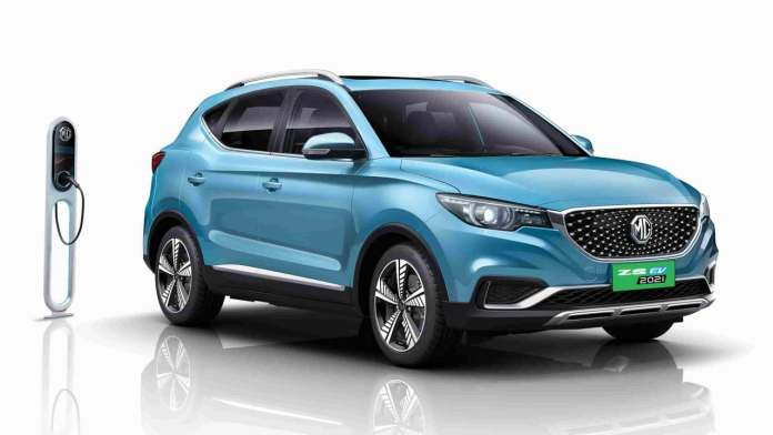 Most EVs on sale in India today - including the MG ZS EV pictured here - cost well over Rs 15 lakh. Image: MG