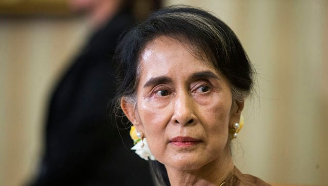 Myanmar junta hits Aung San Suu Kyi with graft charges; her lawyer dismisses corruption claims as 'absurd'