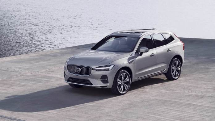 The updated Volvo XC60 will be launched in India with a petrol engine in the coming months. Image: Volvo