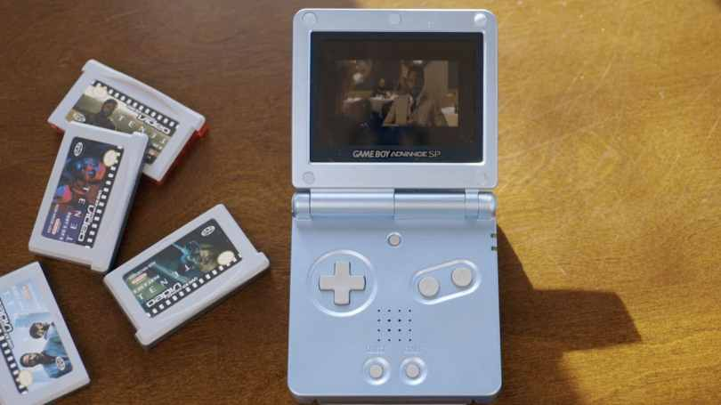 A YouTuber split up the movie Tenet across five Game Boy Advance cartridges to experience the move in the 'worst way possible'