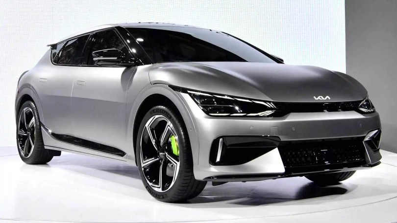 Kia EV6 GT electric crossover packs 585 hp, 0-100 kph time of 3.5 seconds and 260 kph top speed