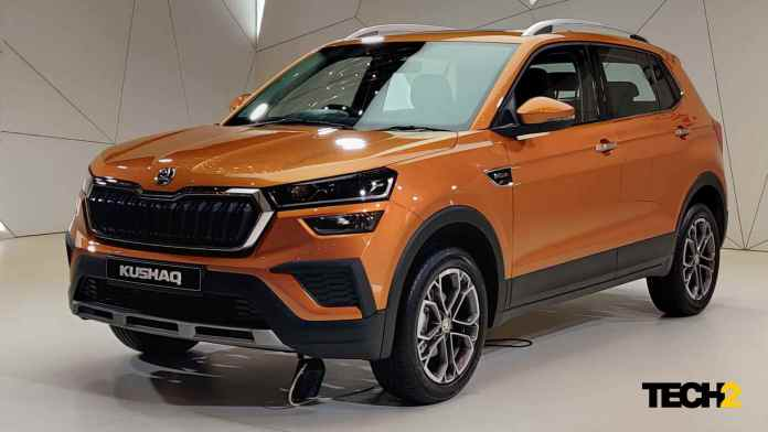 The Skoda Kushaq's prices are expected to be in the range of Rs 10-16 lakh (ex-showroom). Image: Tech2/Amaan Ahmed