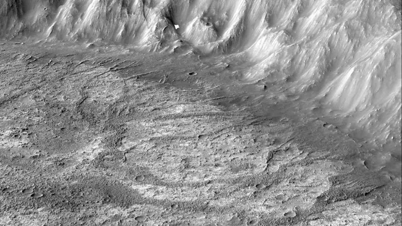 Researchers discover a new type of crater lake on Mars' surface- Technology News, Gadgetclock
