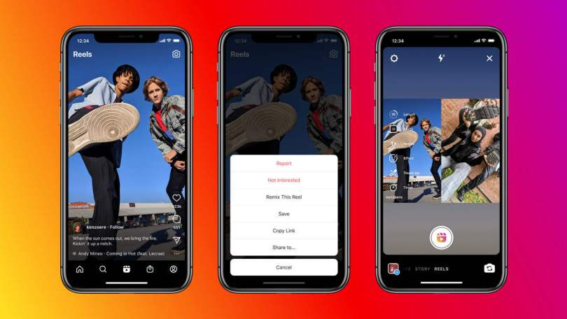 Instagram introduces 'Remix' feature for reels to create interactive reels alongside another