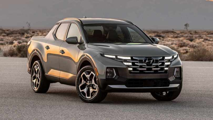 Hyundai Santa Cruz pick-up truck debuts in the USA, is based on the new Tucson SUV