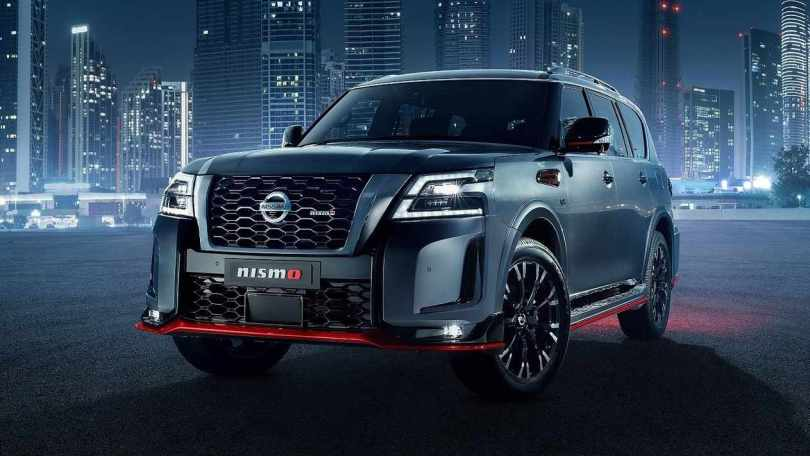 Nissan Patrol Nismo debuts with 428 hp V8, Bilstein suspension and sportier styling