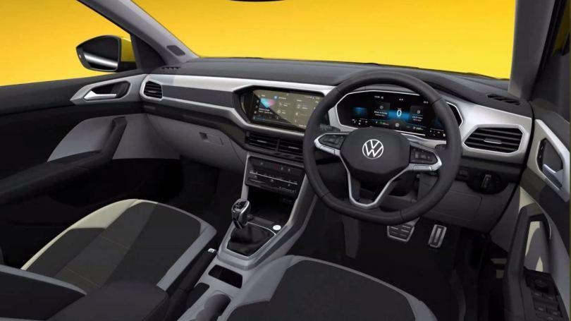 Volkswagen Taigun interior renders revealed, features a digital instruments display