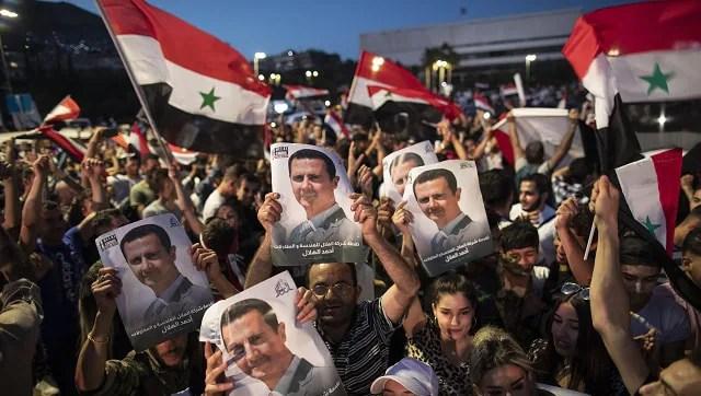 Bashar al-Assad wins fourth term in predictable landslide; US, Europe question legitimacy-World News , Firstpost