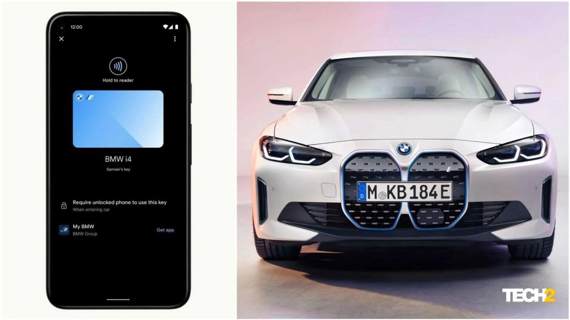 Google's Digital Car Key utilises both NFC as well as ultra-wideband (UWB) technologies. Image: Tech2/Amaan Ahmed