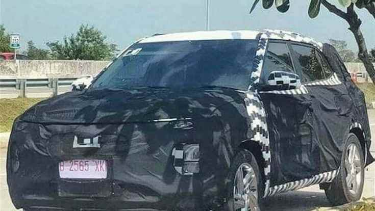 LED DRLs are expected to be integrated into the grille of the 2022 Hyundai Creta facelift.