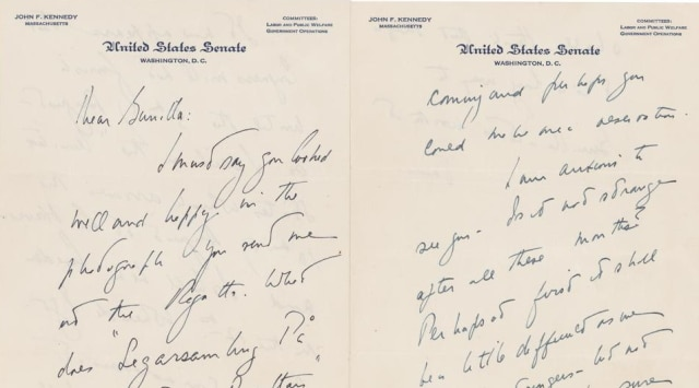 John F Kennedy letters to Swedish lover to be auctioned-Art-and-culture News , Firstpost