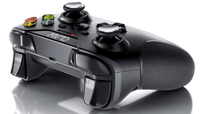 Claw - rear buttons and charging port