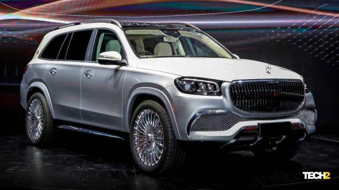 The new-generation GLS is the base for the first-ever Mercedes-Maybach SUV. Image: Mercedes-Benz
