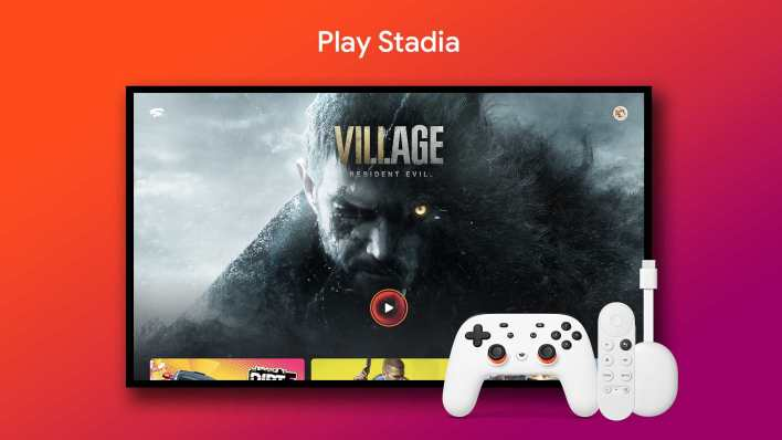 Google TV owners can get a discount on a Stadia controller till 30 July. Image: Google