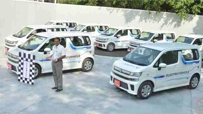 Maruti Suzuki had commenced fleet testing of EVs back in 2018. Image: Maruti Suzuki