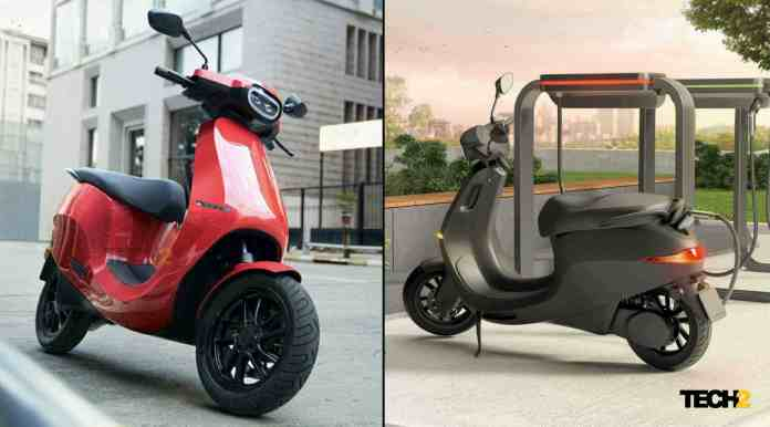 The top-spec variant of the Ola Electric scooter is set to have a real-world range of up to 150 kilometres. Image: Ola Electric