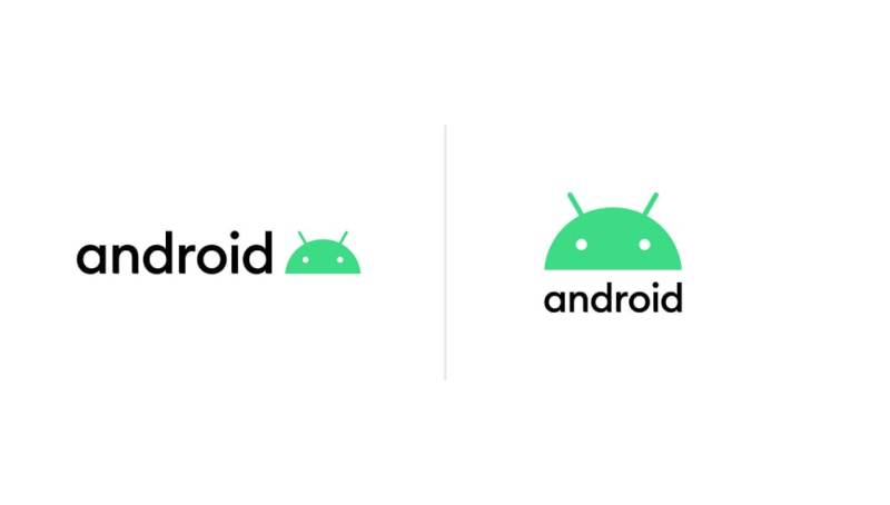 New Android logo.