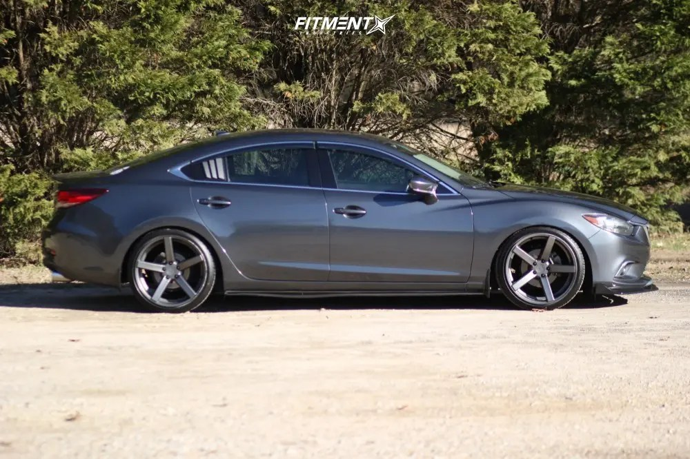 2014 mazda 6 grand touring with 20x10