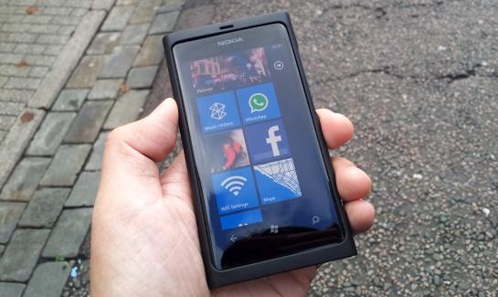 ganhe um celular Nokia Lumia 800