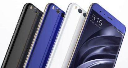 Xiaomi Mi 6 colors 1 1024x550 - Xiaomi Mi 6 announced:Powered by Snapdragon 835,6 GB RAM,Dual Camera with portrait mode