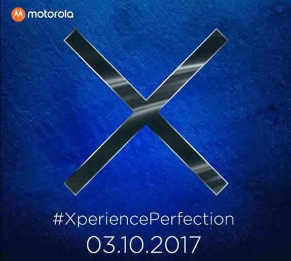 Moto X4 India launch invite