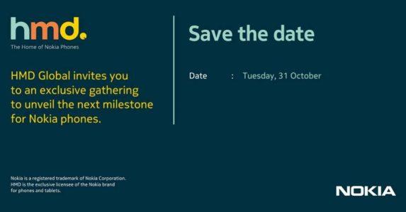HMD Global October 31 India invite