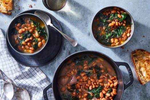 A Pot of Beans & Greens