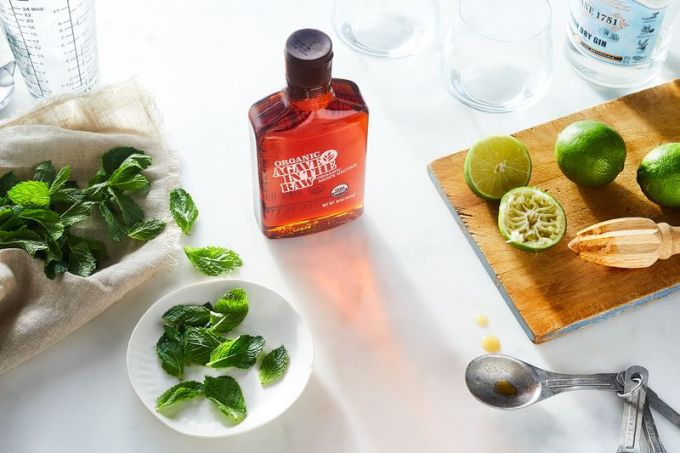 For the easiest-ever cocktail sweetener, try swapping in Agave In The Raw.