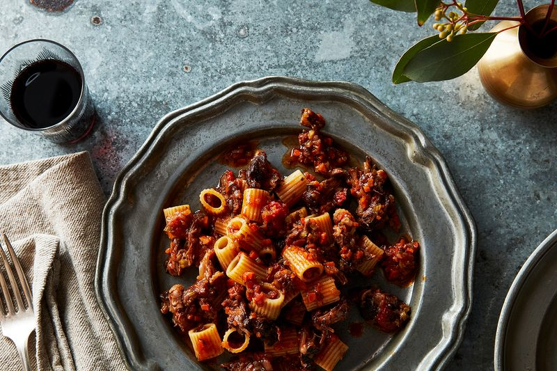 Braised Oxtail Ragu